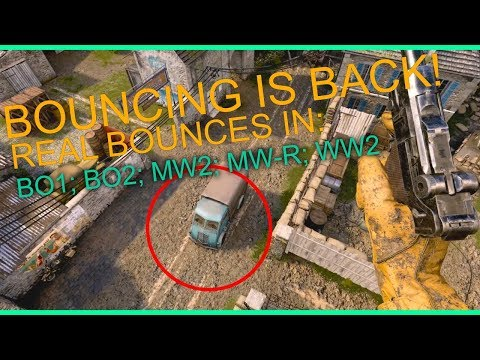 BOUNCES ARE BACK! Real Bounces in CoD BO1, BO2, MW2, MW R, W