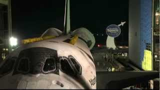Atlantis Time-Lapse Move to New Home