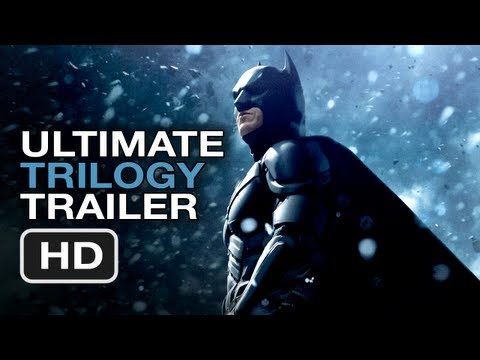 The Dark Knight Rises Ultimate Trilogy Trailer - Christopher Nolan Batman Movie Legacy HD