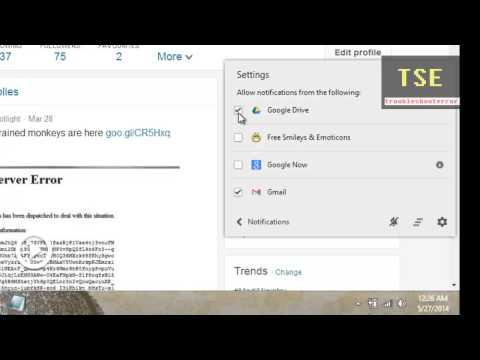 Chrome Notifications Bell icon on Windows Taskbar (Gmail /Google Drive /Google Now)