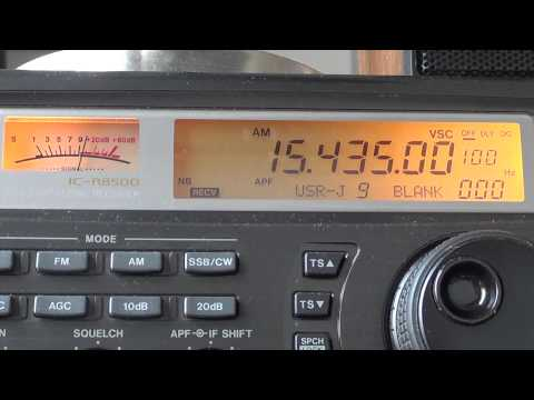 Saudi Arabia with buzzing transmitter 15435 kzhz