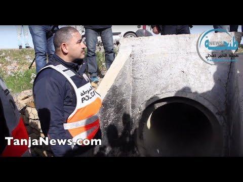 إعادة تشخيص جريمة قتل شخص وإحراق جثته من طرف مواطن مصري وشريكه بالأحد الغربية ضواحي طنجة