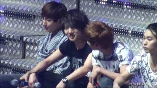 100410 [HD] Adorable SuJu singing Our Love @ Super Show II Manila view on youtube.com tube online.