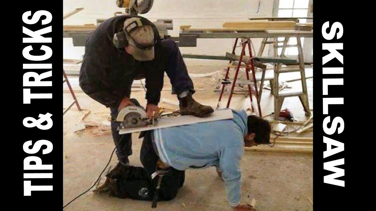 How To Use Circular Saw Safely Plus Long Straight Cuts In