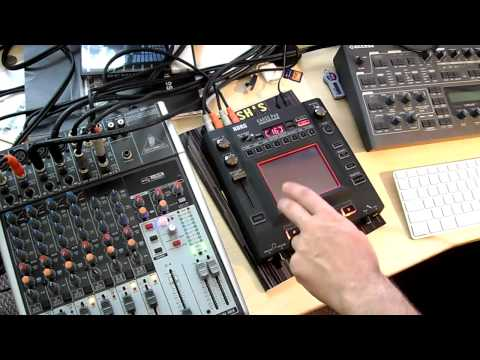Kaoss PAD KP3 resampling tutorial
