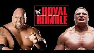 WWE ROYAL RUMBLE January 26 2014 Brock Lesnar Vs Big Show