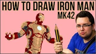 How To Draw Iron Man (Mark 42)