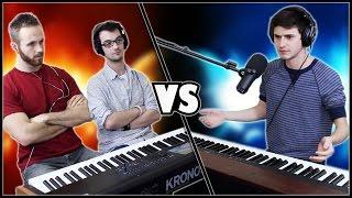 EPIC PIANO BATTLE - Frank & Zach vs. Marcus Veltri