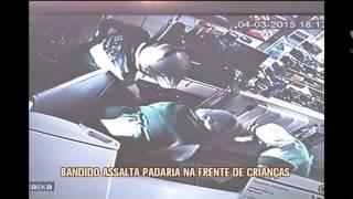 Ladr�o armado invade e rouba padaria no Sul de Minas