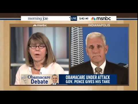 Indiana Gov. Mike Pence on MSNBC's Morning Joe