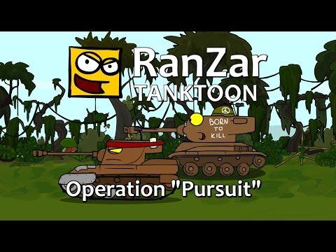 Tanktoons - Operácia Prenasledovanie
