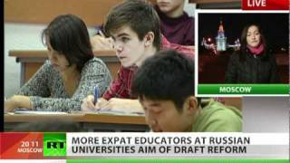 Russia is looking for expat educators