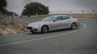 Maserati Quattroporte vs Jaguar XJ - autocar.co.uk videos