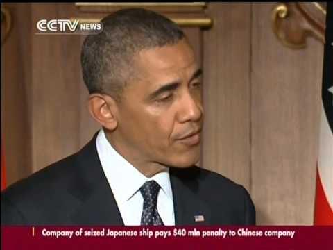 Obama reiterated the US position on Japan's island dispute with China