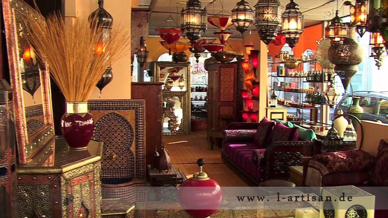 l artisan orientalische lampen m bel und wohnaccessoires besuchen sie unser atelier aachen. Black Bedroom Furniture Sets. Home Design Ideas
