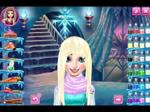 Elsa Hairstyles Games 44