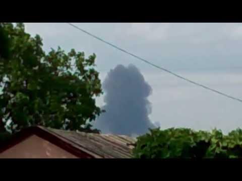 В Торезе российские террористы сбили пассажирский самолет Boeing-777 17.07.2014