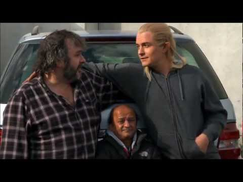 The Hobbit Behind Scenes