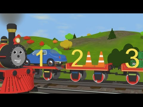 Number Train  -  Fun and Educational Cartoon for Kids