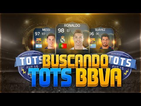 FIFA 15 | TOTS BBVA  | PACK OPENING RUMBO AL BERNABÉU | DoctorePoLLo