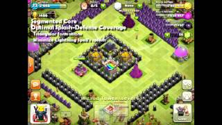 Clash Of Clans [Tutorial] Town Hall 8 Design Guide