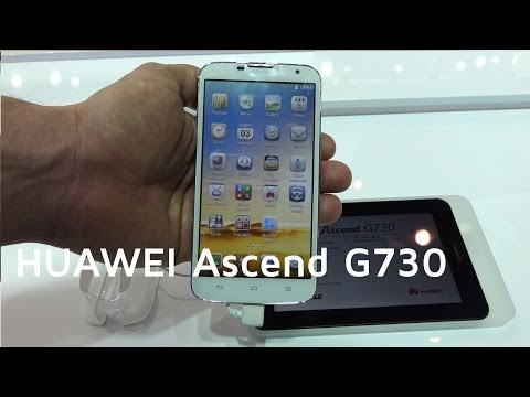 HUAWEI Ascend G730 im Hands on | MWC 2014