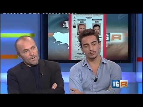 Gianfranco Gallo e Gianluca Di Gennaro TG3 Campania su San Domenico Maggiore
