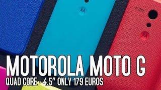 Motorola Moto G Precio, Características Y