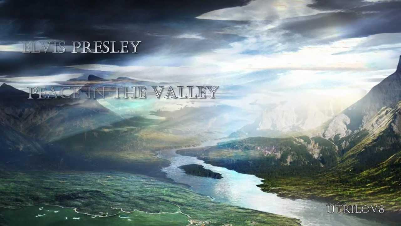 Songtext von Johnny Cash - Peace in the Valley Lyrics