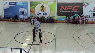 "Сhampionship among women's teams - Group A:  ""Caspiy"" - ""Sinegoryie"""