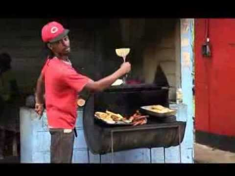 Traditional Jamaican Food as prepared by Lance