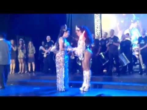 Corte do Carnaval 2015 - Rio de Janeiro - Rainha e princesas são eleitas
