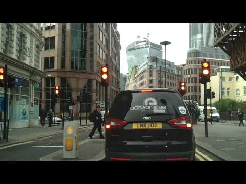 Driving in London - Whitechapel to London Bridge
