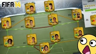 FUT 14 DREAM TEAM SQUAD BUILDER OMGGG 6 MILLIONS