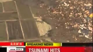 Ovni En Tsunami De Japon 11 De Marzo De 2011 Video