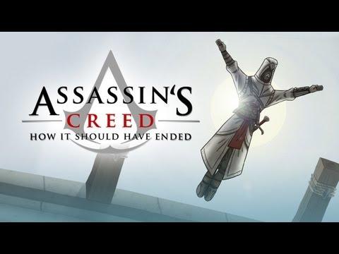 Прикольный мульт о Assassin's Creed