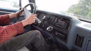 Taking a Ride in the First Gen Dodge Cummins with stacks