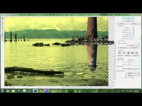 Creating a Water Reflection - Photoshop CS5