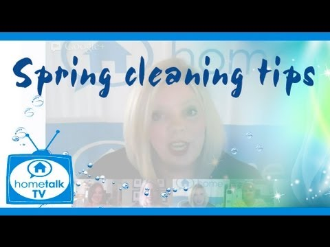 Three Must-Have Spring Cleaning Tips!