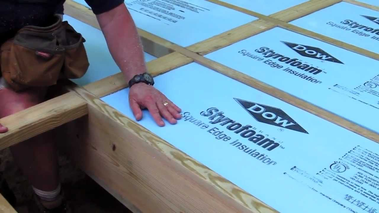 How To Foam Insulation Board Youtube