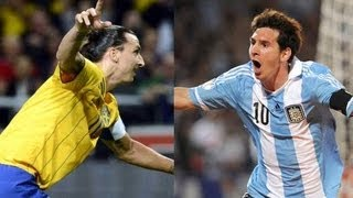 Sweden Vs Argentina 2-3 Highlights INTERNATIONAL FRIENDLY