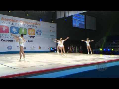 ROMANIA Group  -- 2014 Aerobic Worlds, Cancun (MEX), Qualifications -- We are Gymnastics !