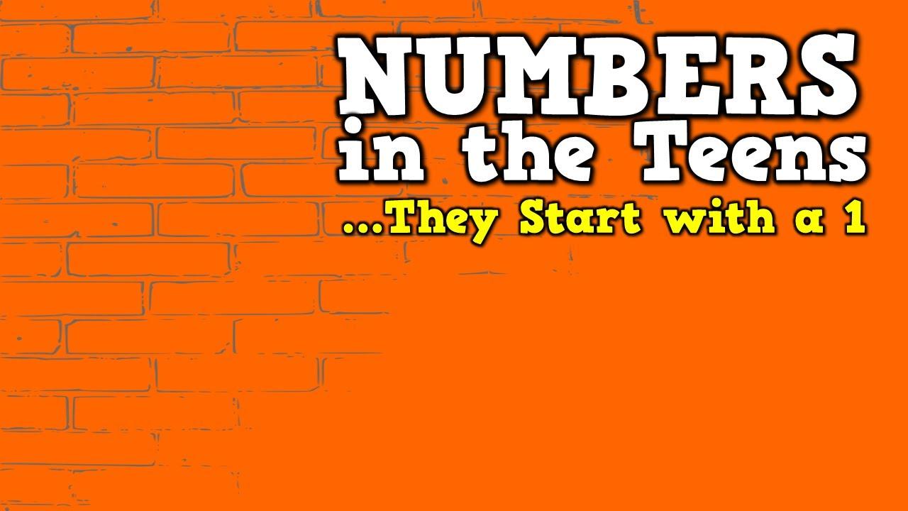 Teen Numbers 42