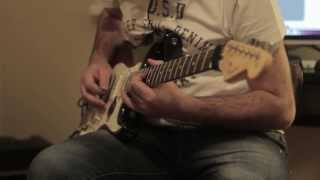 [Fender Standard Stratocaster HSS with Logic Pro] Video