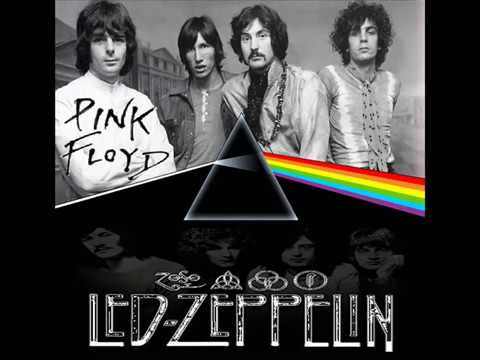 Pink Floyd  VS. Led Zeppelin - Wish You Were Here Black Dog MashUp