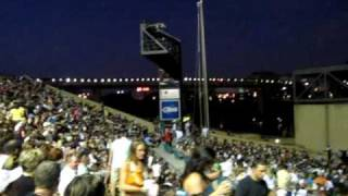 The crowd at the Journey concert - Mud Island Amphitheatre; Memphis, TN