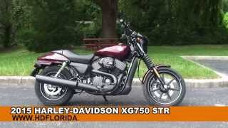 New 2015 Harley-Davidson Motorcycle Street 750 For Sale