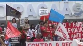MANIFESTAÇÃO CONTRA A PEC 055 -