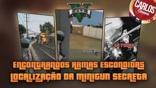 GTA V Encontrando Armas Escondidas #1 Localização Da