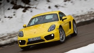 2013 Porsche Cayman review - NEW at www.autocar.co.uk videos